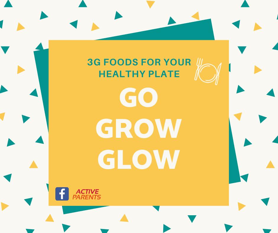 3G FOODS GO GLOW GROW