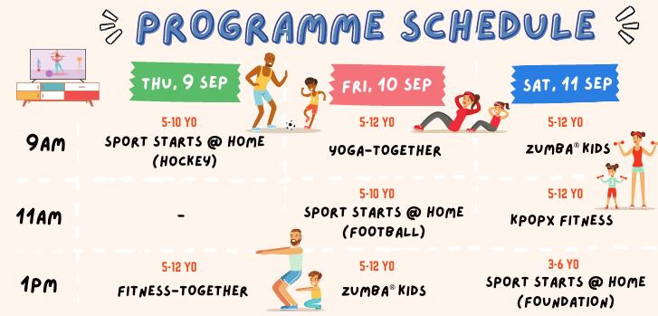 Programme schedule (1)