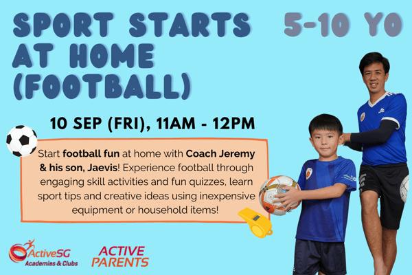 Sport Starts at Home (Football)