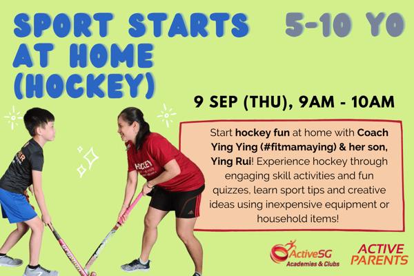 Sport Starts at Home (Hockey)