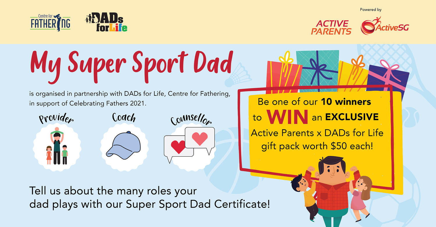 Active Parents Fathers Day - Campaign Banners 2000x1040px d3bv2 180521-150ppi