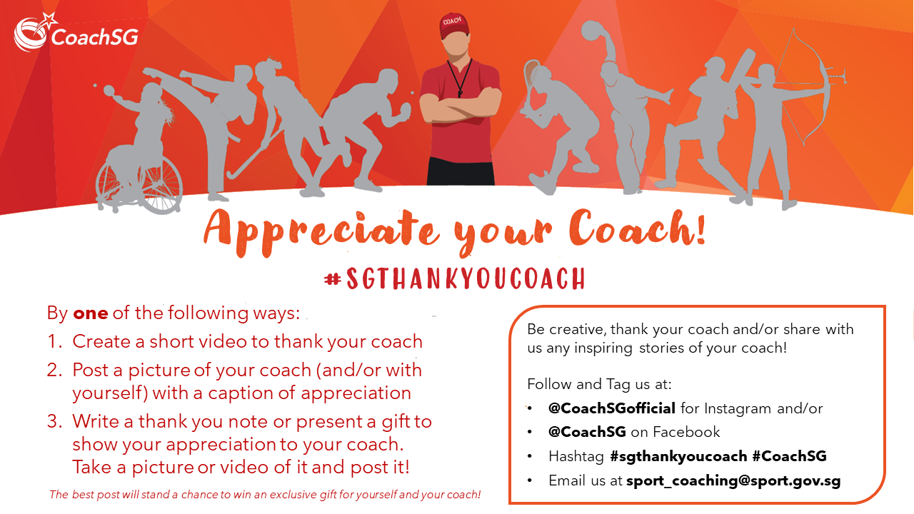 Appreciate Your Coach Poster 2020