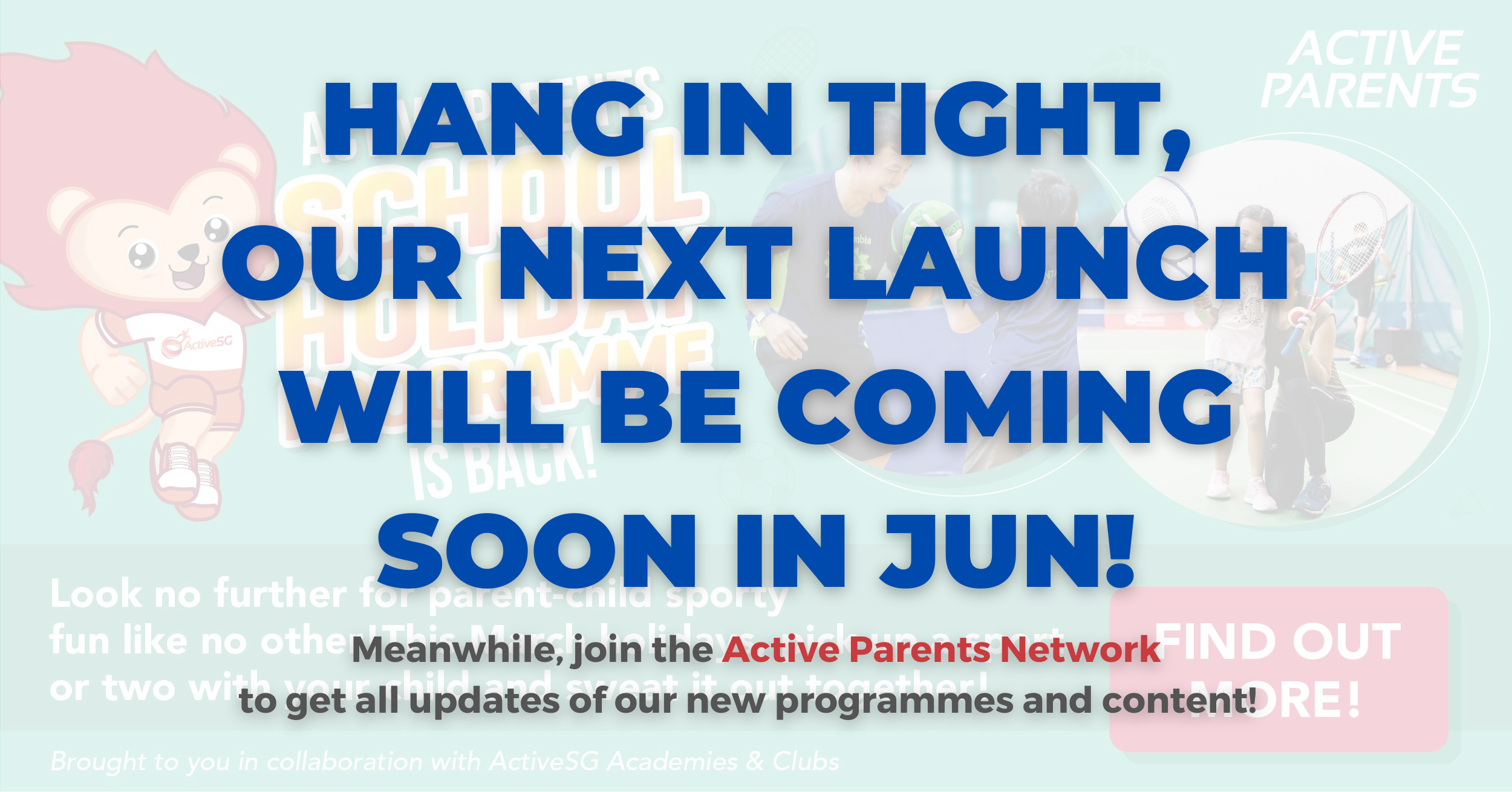 COMING TO YOU AGAIN IN JUN 2021!