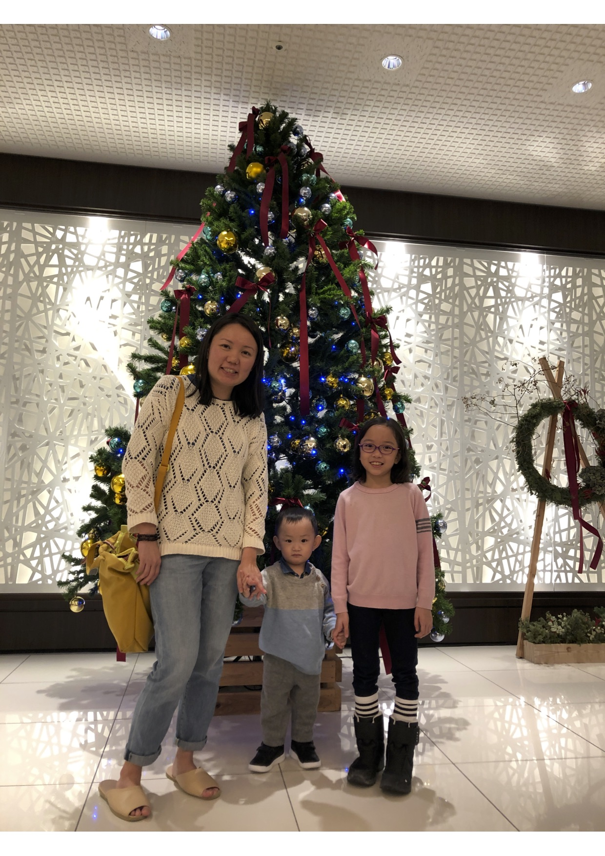 Dr Elaine Chew and Family