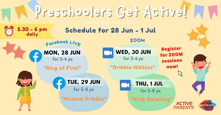 Preschoolers Get Active! - Campaign Page Banner-1